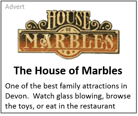 Advert for the House of Marbles