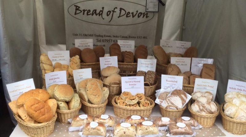 Range of artisan breads by Bread of Devon