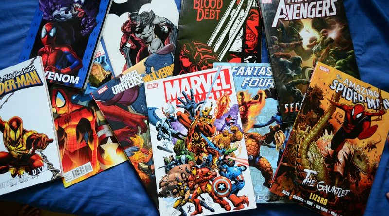 Range of comic books