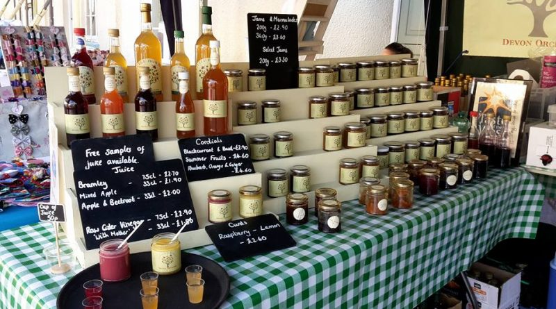 Juice, chutneys and jams made by Devon Orchard Little Bowhay