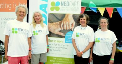 North East Dartmoor Care attending a fair