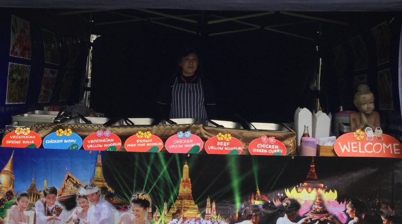 The Authentic Thai Food stand at a show