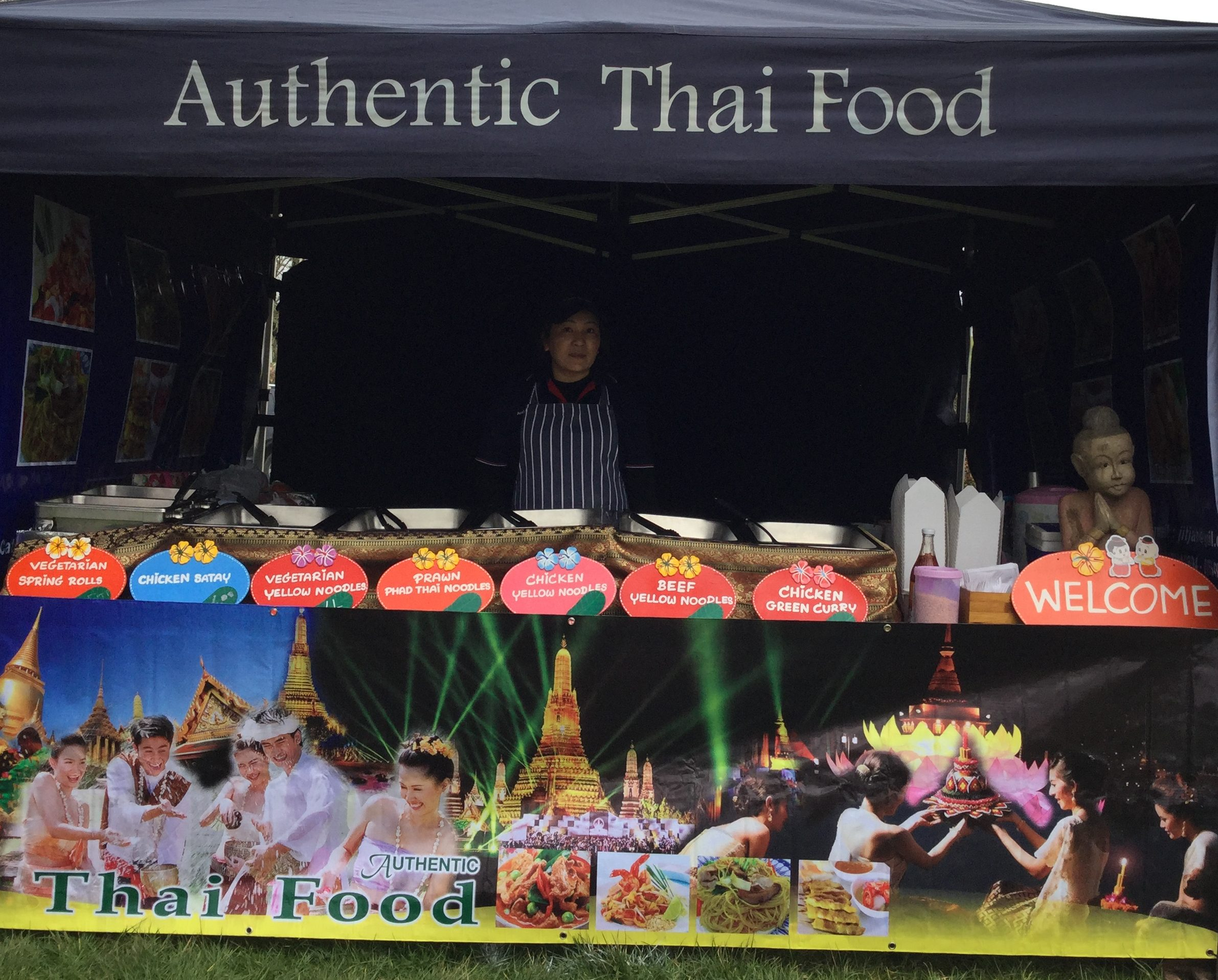 Authentic thai food lustleigh village show for Authentic thai cuisine