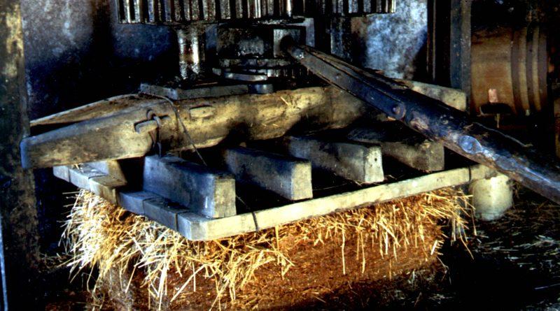 The traditional cider press at Brimblecombe
