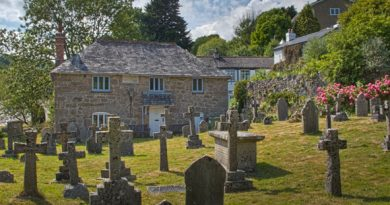 The Old Vestry in Lustleigh churchyard