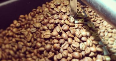 Roasted coffee beans by Seaglass Coffee