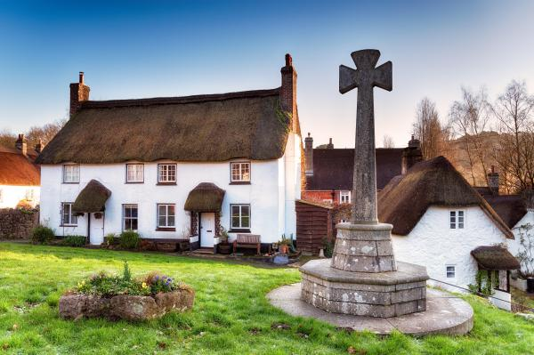 The Times 'Best villages in the UK' article picture of the village green