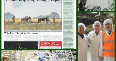 Images from the Moorlander newspaper