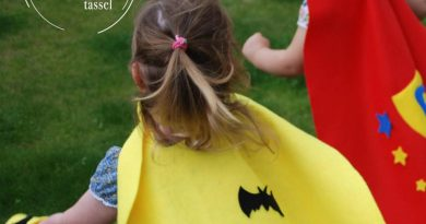 Children's capes by Pom Stitch Tassel