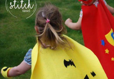 Children's capes by Pom Stitch Tassel