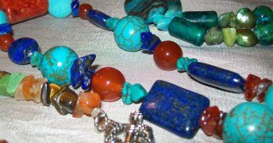 Semi precious stone necklaces by Fi's Jewellery